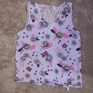 Women's Candies floral tank